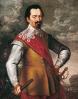 Albrecht_Wallenstein generál armády císaře Ferdinanda II